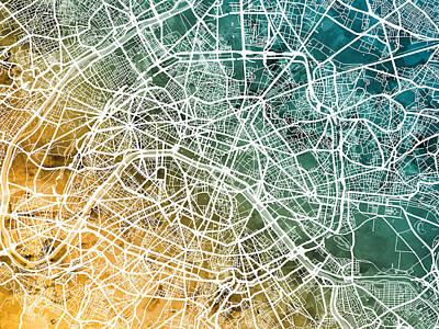 Designs Similar to Paris France City Street Map