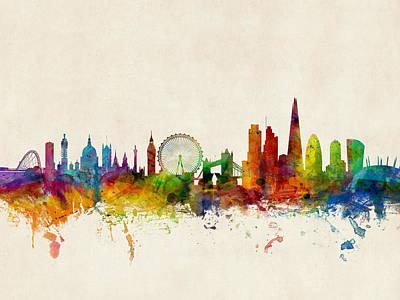 Designs Similar to London England Skyline