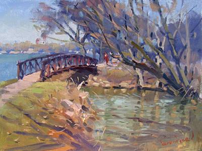 Pedestrian Bridge Paintings