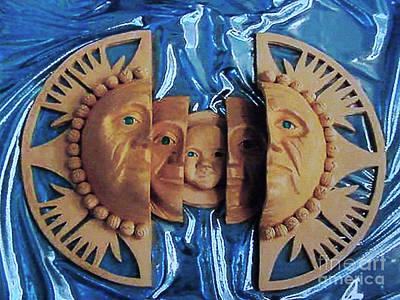 Aztec Pottery Art