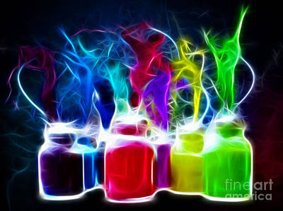 Buckets Of Colors Prints
