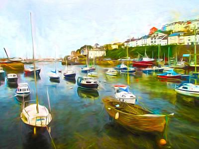 Brixham Harbour Paintings