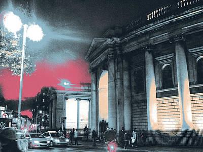 Parliament Mixed Media Original Artwork