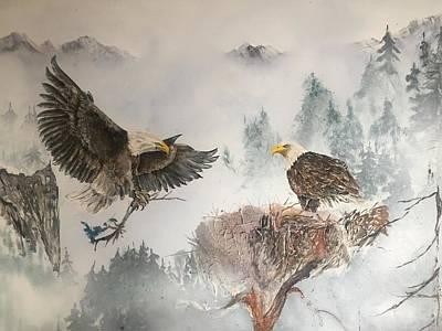 Designs Similar to Eagles Nesting by Wm Garcia