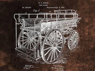 Designs Similar to Fireman's Wagon Patent
