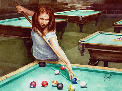 Snooker Paintings