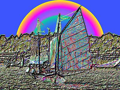 Designs Similar to Lake Union Rainbow Sail