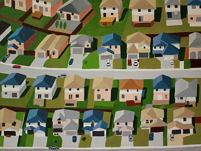 Residential Structure Paintings Prints