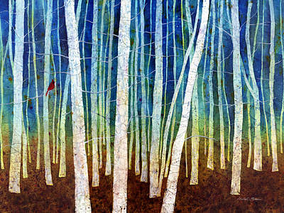 Tree Canopy Paintings Prints