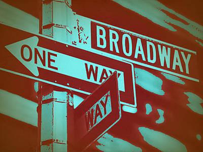 Broadway In New York Prints