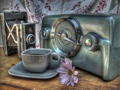 Vintage Camera Original Artwork