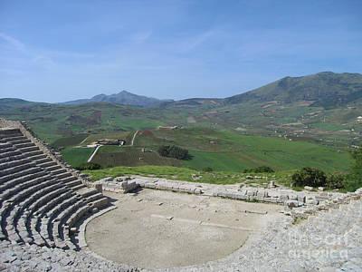 Open Air Theater Panorama Art