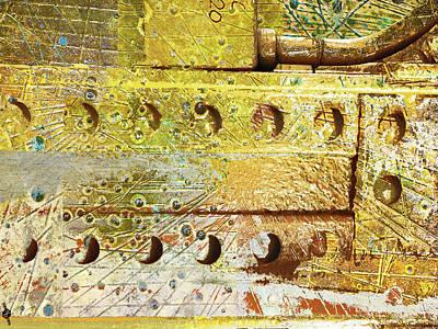 Pillars Mixed Media Original Artwork