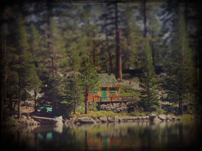 Cabin On A Lake Prints