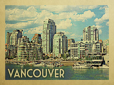 Designs Similar to Vancouver Travel Poster