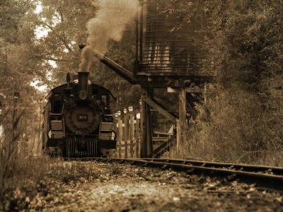 Huckleberry Railroad Prints