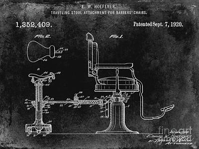 Designs Similar to 1920 Barber Chair Patent Black