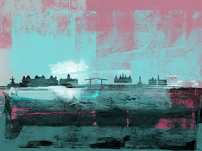 Designs Similar to Amsterdam Abstract Skyline I 1