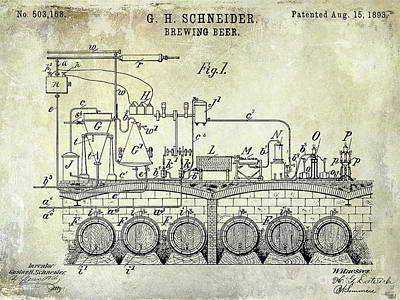 Designs Similar to 1893 Beer Brewing Patent