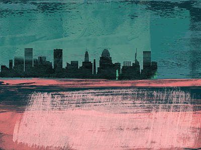 Designs Similar to Baltimore Abstract Skyline II