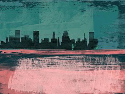 Designs Similar to Baltimore Abstract Skyline II