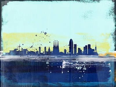 Designs Similar to Barcelona Abstract Skyline