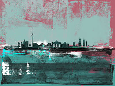 Designs Similar to Berlin Abstract Skyline I