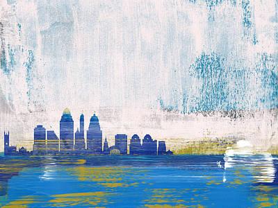Designs Similar to Cincinnati Abstract Skyline I