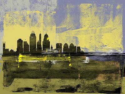 Designs Similar to Cincinnati Abstract Skyline II