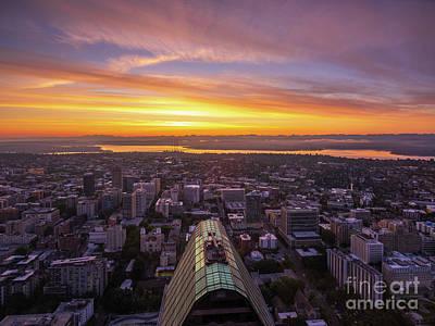 Designs Similar to Eastside Sunrise From Seattle