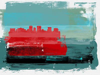 Designs Similar to El Paso Abstract Skyline I