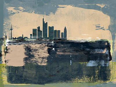 Designs Similar to Frankfurt Abstract Skyline II