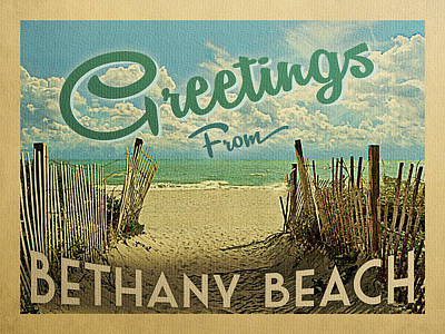 Designs Similar to Greetings From Bethany Beach