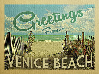 Designs Similar to Greetings From Venice Beach