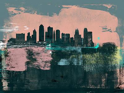 Designs Similar to Kansas City Abstract Skyline I