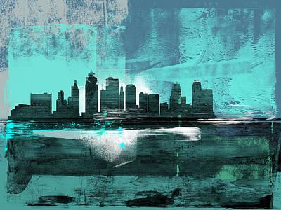 Designs Similar to Kansas City Abstract Skyline II