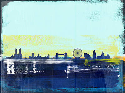 Designs Similar to London Abstract Skyline I