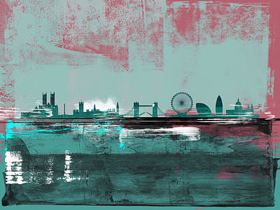 Designs Similar to London Abstract Skyline II