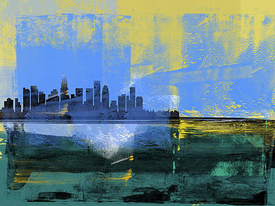 Designs Similar to Los Angeles Abstract Skyline I