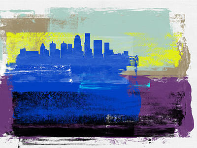 Designs Similar to Louisville Abstract Skyline I