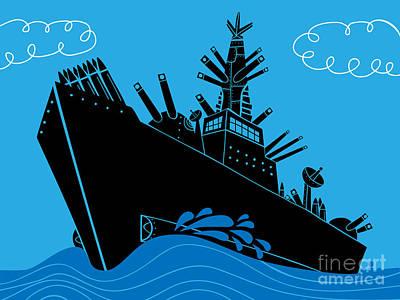 Boat Dock Digital Art