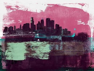 Designs Similar to Minneapolis Abstract Skyline I