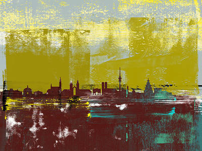 Designs Similar to Munich Abstract Skyline II