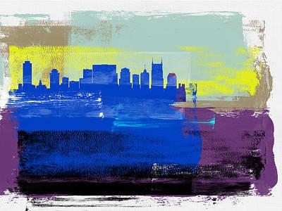 Designs Similar to Nashville Abstract Skyline II