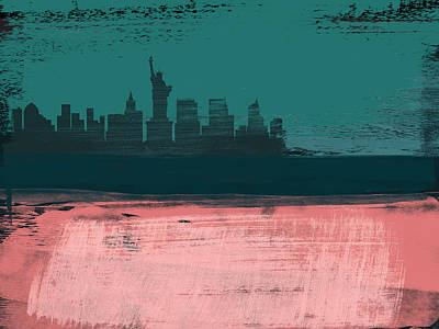 Designs Similar to New York Abstract Skyline II