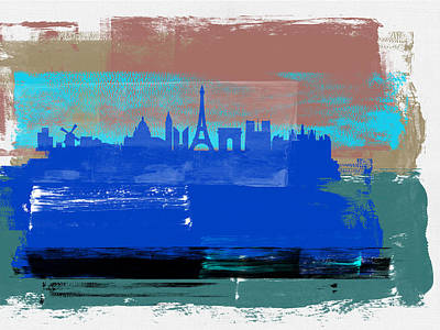 Designs Similar to Paris Abstract Skyline I