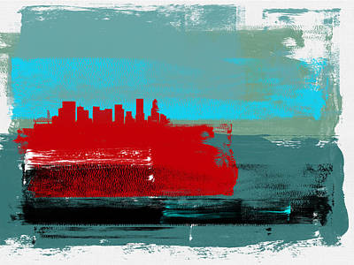 Designs Similar to Portland Abstract Skyline I