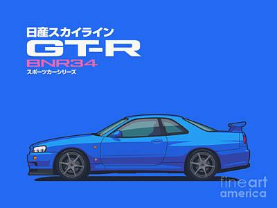Bnr34 Digital Art