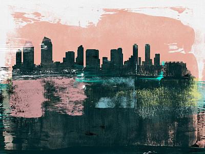 Designs Similar to San Diego Abstract Skyline I