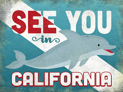 Designs Similar to See You In California Dolphin